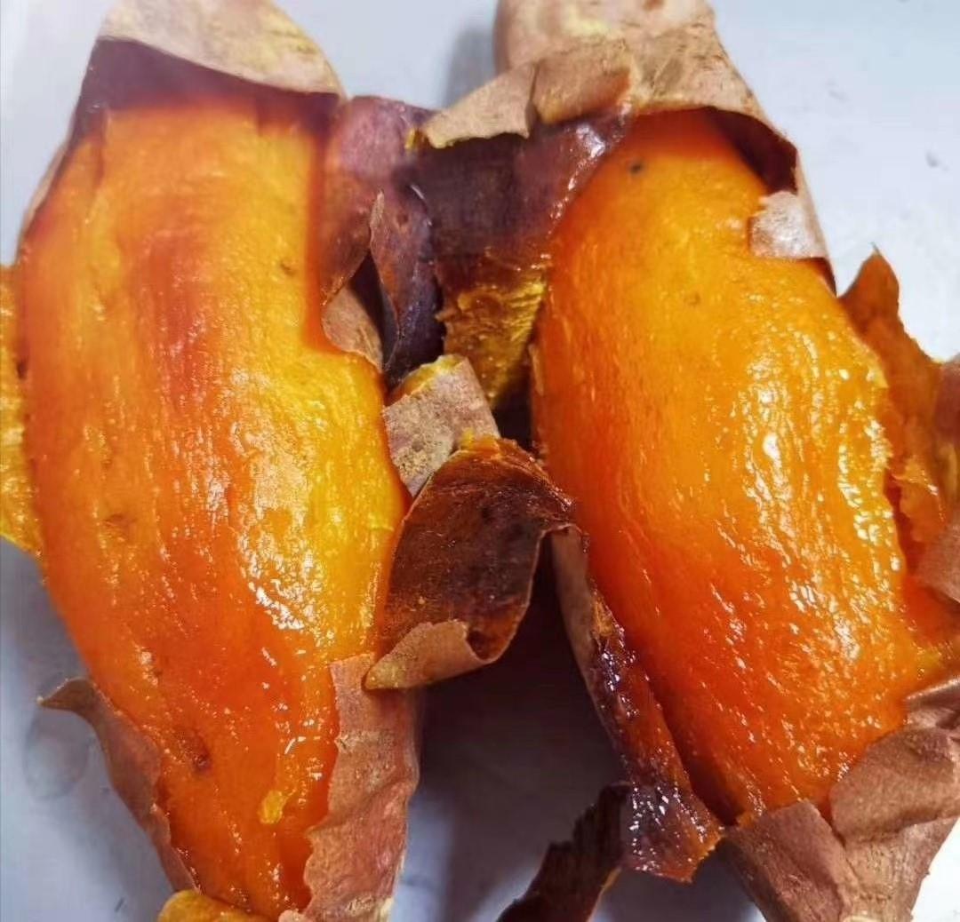 秋天的第一个烤红薯:张成荣电烤地瓜